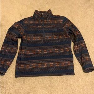 Men's The North Face 1/4 zip sweater